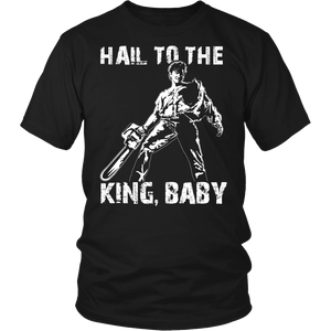 Ready-To-Ship Large Hail To The King T-Shirt