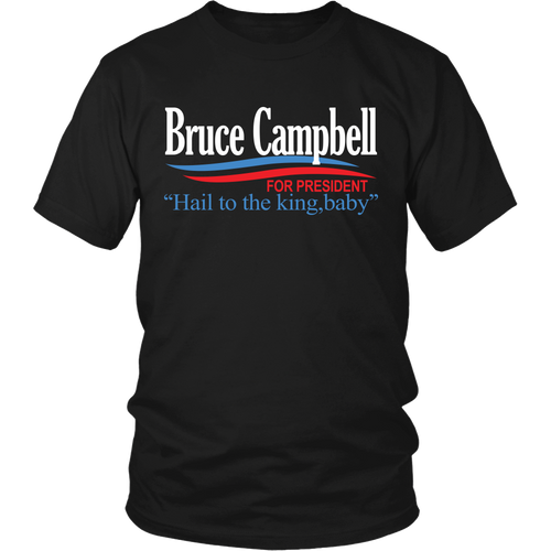 Ready-To-Ship Small Campbell For President! T-Shirt