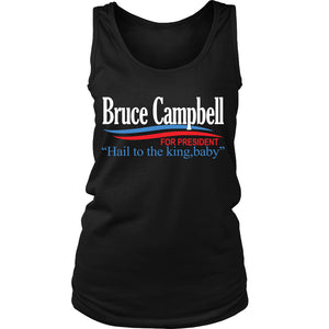 T-shirt - Campbell For President!
