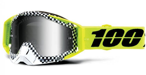100% Racecraft Andre_Silver Tinted Lens