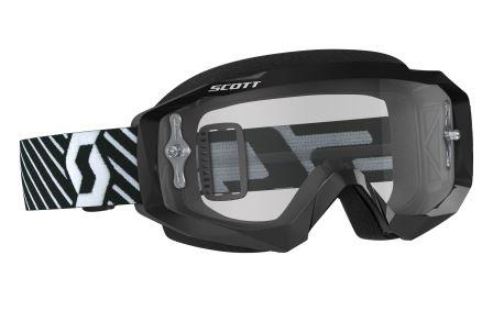 Scott Hustle MX Goggle_Black White