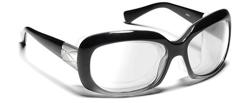 Ziena Oasis Glossy Black_Sharpview Clear