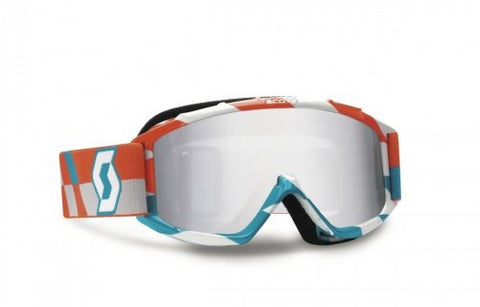 Scott 89Si Pro Touth Track_Orange Blue_Silver Chrome