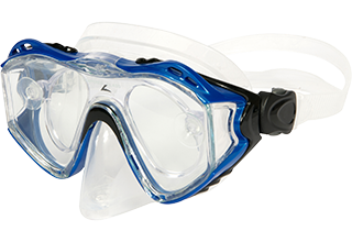 Leader Adult Blue Rx Dive Mask