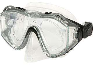 Leader Adult Silver Rx Dive Mask