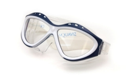AQUAVIZ Swim Goggle_Blue/White