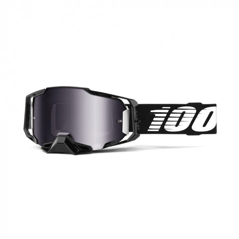 100% Armega Black_Silver Flash Mirror Lens