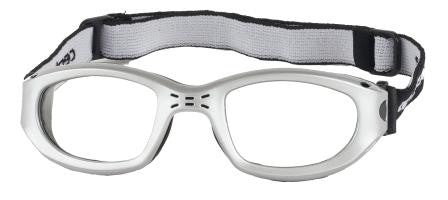 fb8a65fbdc Centrostyle Silver Black. Prescription Ball Sports Eyewear ...