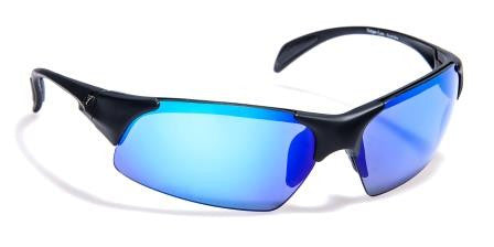 Cleancut Gold Revo Matte Black_Polarised Blue Mirror
