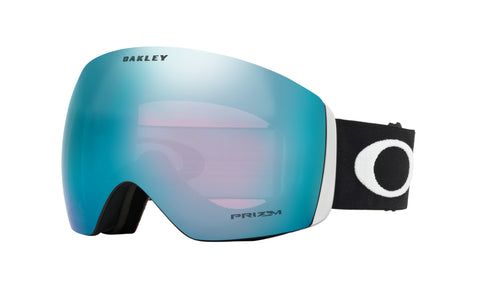 Oakley Flight Deck Matte Black_Prizm Snow Sapphire Iridium