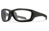 Wiley X Gravity_Matte Black_Clear Lens