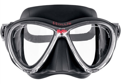 Hollis M3 Black Dive Mask