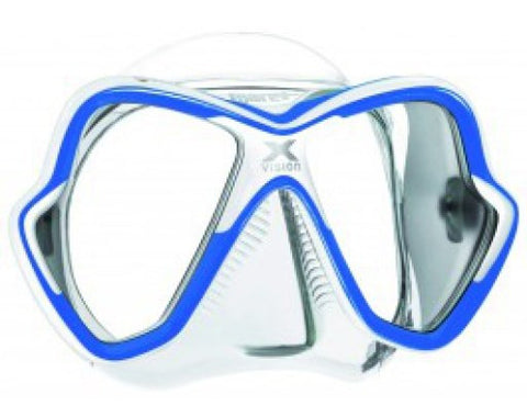 Mares X-Vision Blue Dive Mask