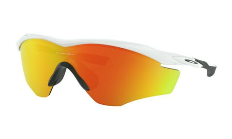 Oakley M2 Frame XL Polished White_Fire Iridium