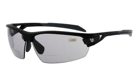 PHO Matte Black Photochromic Bifocal