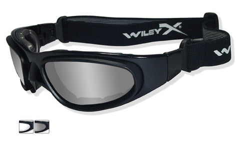 Wiley X SG-1 Matte Black_2 Lens_Grey & Clear