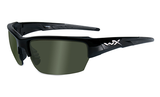 Wiley X Saint Gloss Black_Polarised Smoke Green Lens