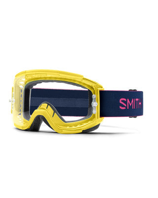 Smith Squad MTB Citron Indigo_Clear Lens