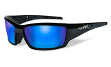 Wiley X Tide Gloss Black_Polarised Blue Mirror