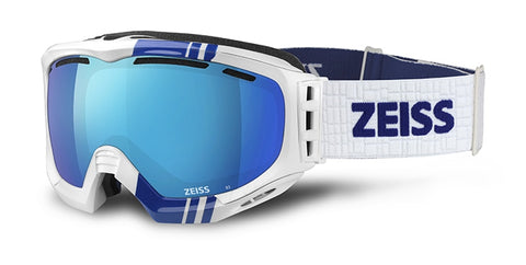 faf89a65fd Zeis White Blue-Multilayer Blue. ZEISS Snow Goggles ...