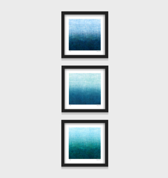 Gradual Series - set of 3 - Framed or Unframed