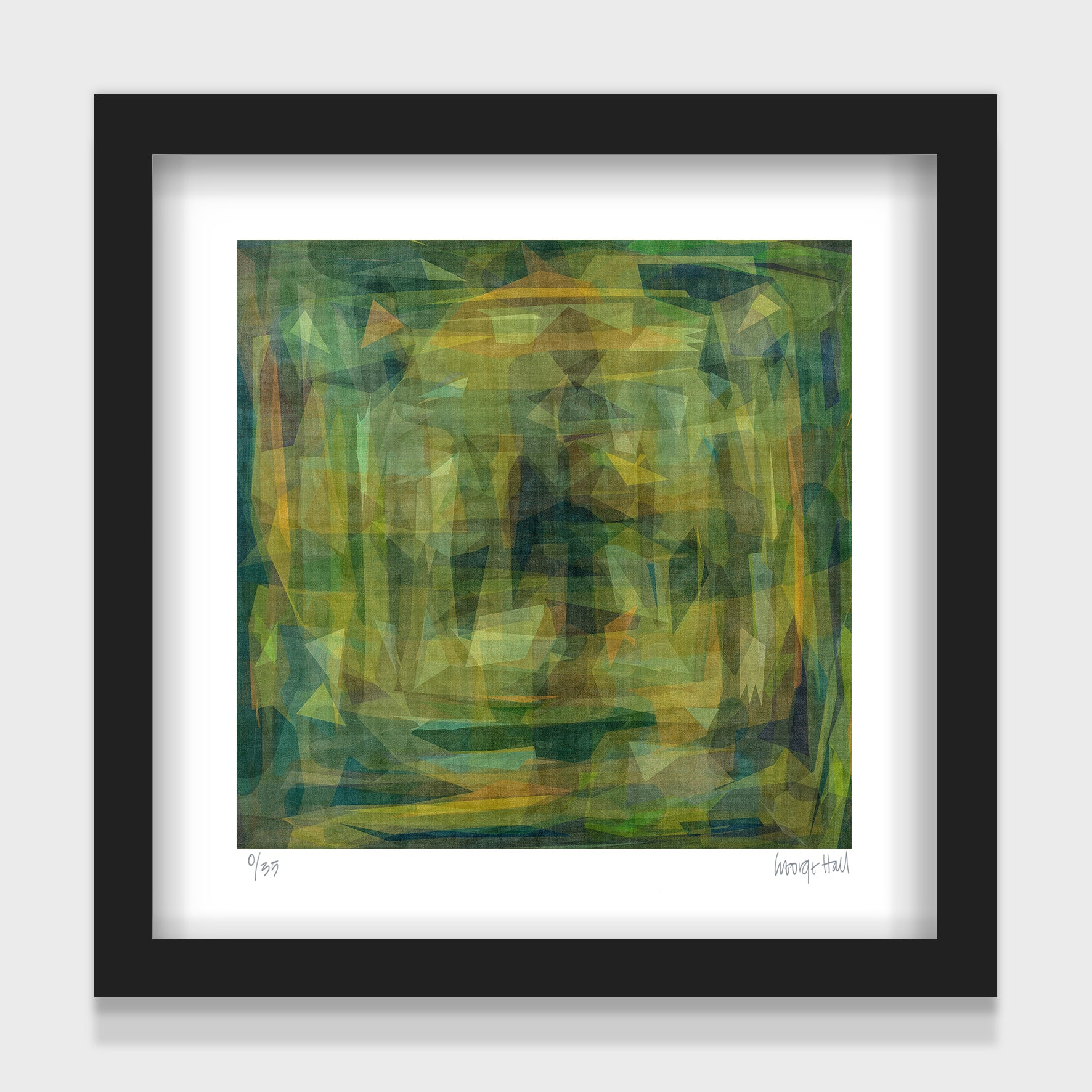 Green Harvest - 25cm - White/Black Framed or Unframed