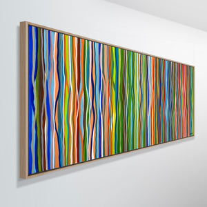Commission Deposit- Funk and Groove - 152 x 76cm acrylic on canvas