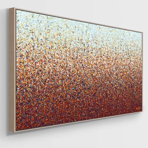 The Australian Pollen Nation - Ltd Ed Print -  152 x 76cm