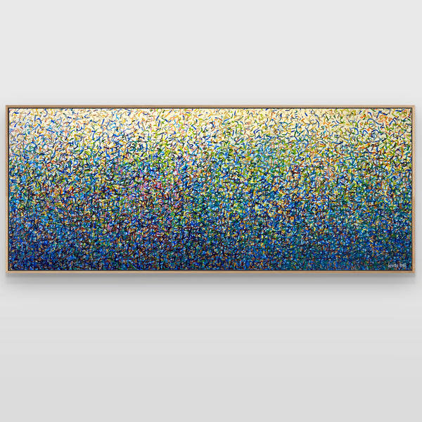 Sydney Garden Dance 152 x 61cm acrylic on canvas
