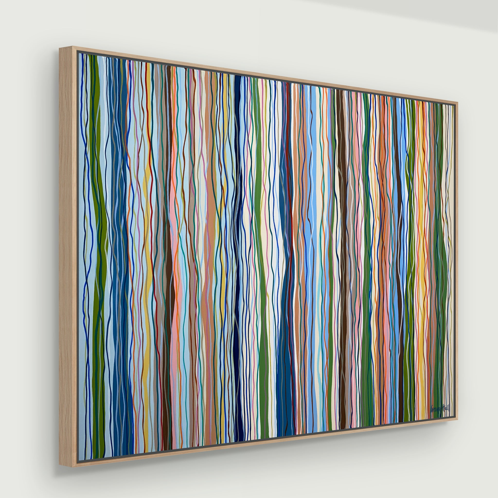 Funk to the Groove - Framed - 140 x 95cm acrylic on canvas