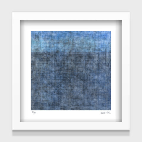 Horizon - small - White/Black Framed or Unframed