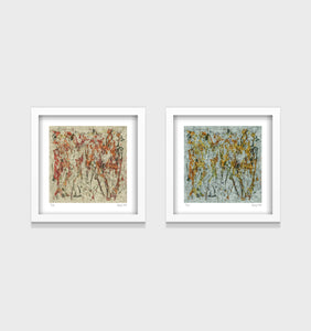 The Horsemen Series- Set of 2- Small 25 x 25cm