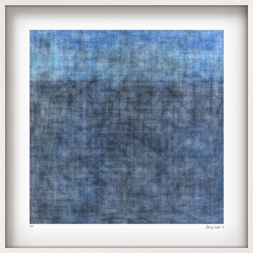 horizon limited edition giclee print on paper in 525cm white shadow box frame - White Shadow Box Frame