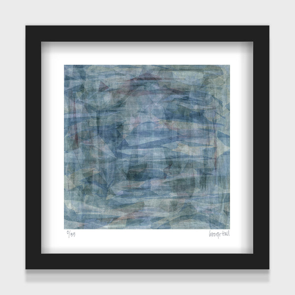 Marine Harvest - 25cm - White/Black Framed or Unframed
