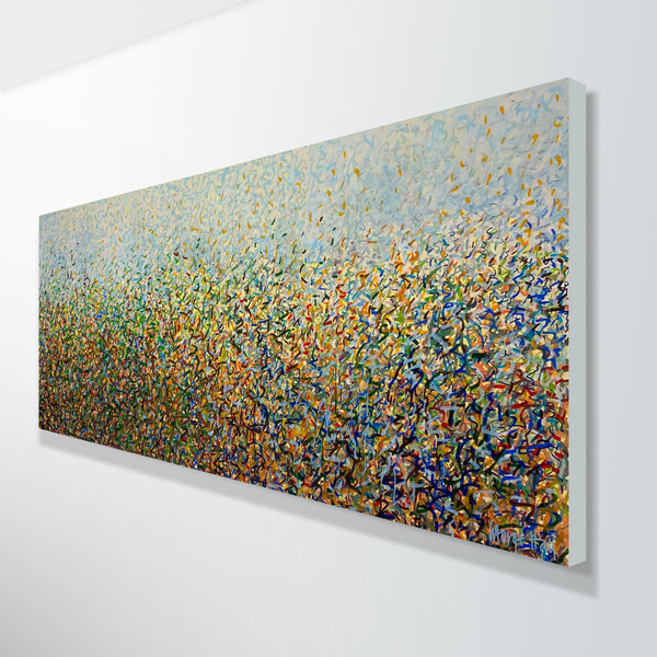 Commission - Nature's Bush Dance 152 x 61 cm