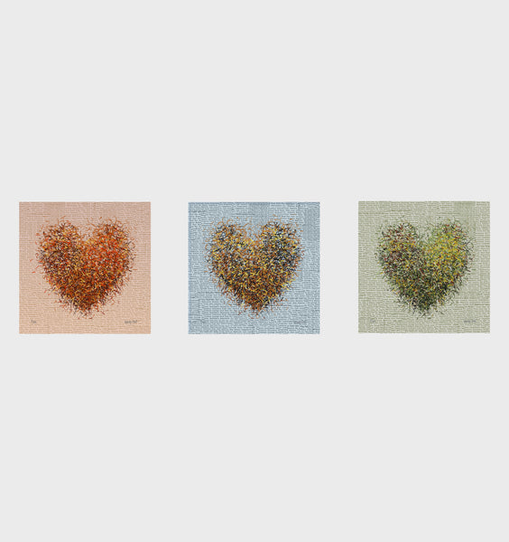Optimist Season Series- Set of 3- Small 25 x 25cm