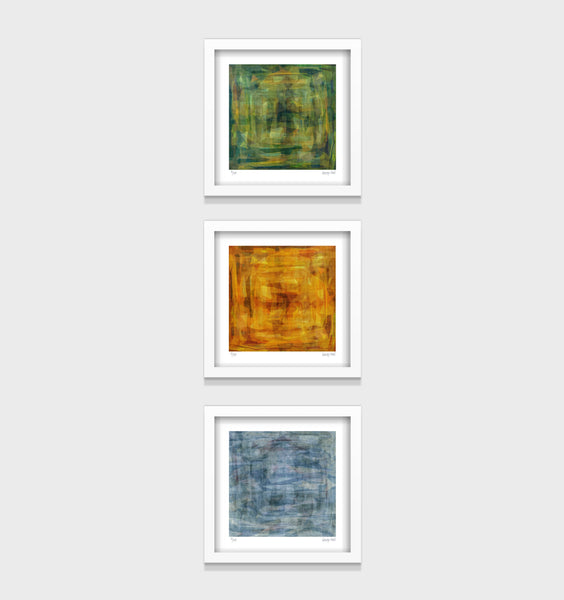 Harvest Series- Set of 3- Small 25 x 25cm