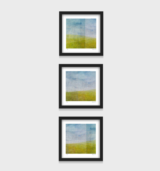 Third View A - small - White/Black Framed or Unframed