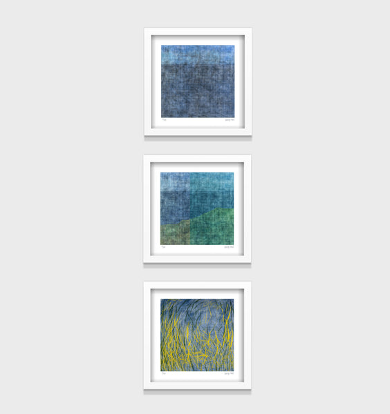 Horizon Series- Set of 3- Small 25 x 25cm