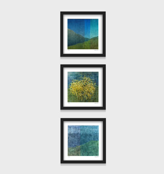 Wanaka Land Series - set of 3 - Framed or Unframed