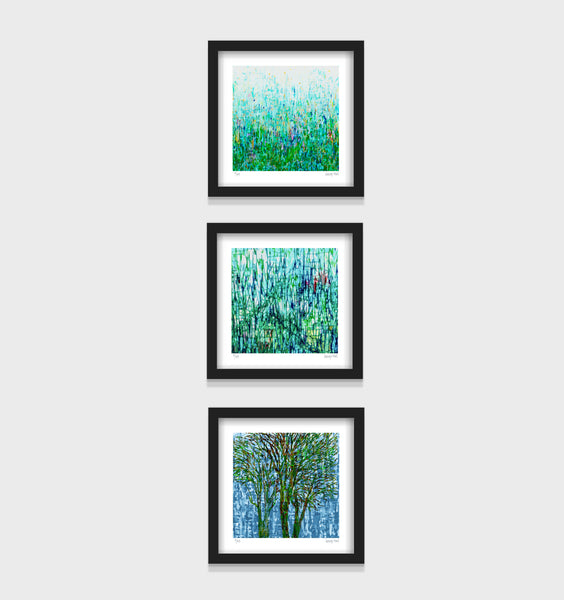 Wendy's Series- Set of 3- Small 25 x 25cm