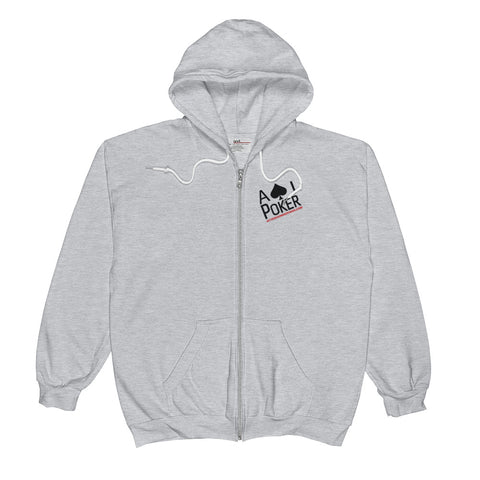AJP Zip-UP Poker Hoodie