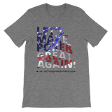 Let's Make Poker great Men's T-shirt Heather Grey