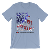 Let's Make Poker great Men's T-shirt Baby Blue
