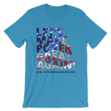 Let's Make Poker great Men's T-shirt Ocean Blue