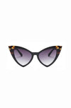 Audrey Two Tone Catseye Sunglasses