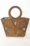 Butterfly Basket Handbag
