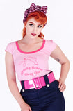 Beauty Skool dropout tee - Bonsai Kitten retro clothing, pin up clothing