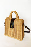 Retro basket handbag