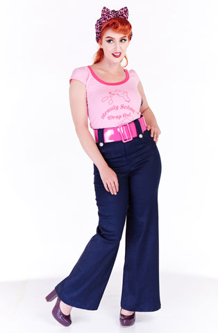Hepburn swing pants